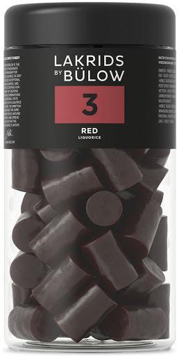 3 – röd lakrits – Lakrids by Bülow