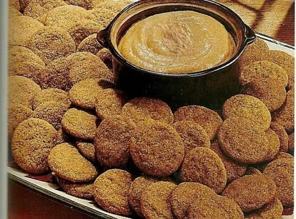 Spice Cookies W/pumpkin Dip