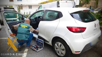 Imagen del vehículo supuestamente sustraído.