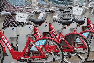 Photo: BCycle, begun at 2008 Dem convention