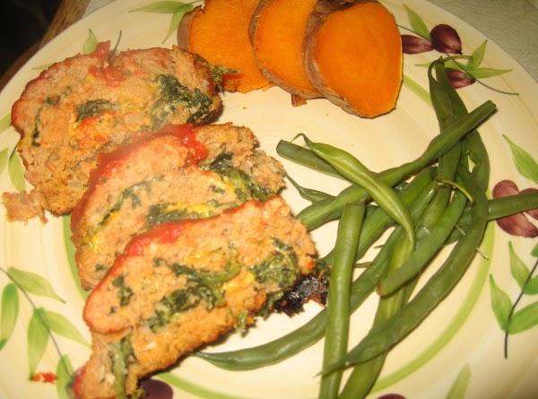 Spinach Swirl Turkey Loaf Recipe