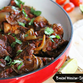 Braised Mexican-Style Pork Ribs.
