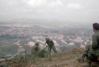 Photo: 1/5 Cav working on bunkers at LZ Peanuts.  Charlie Brown Picture.