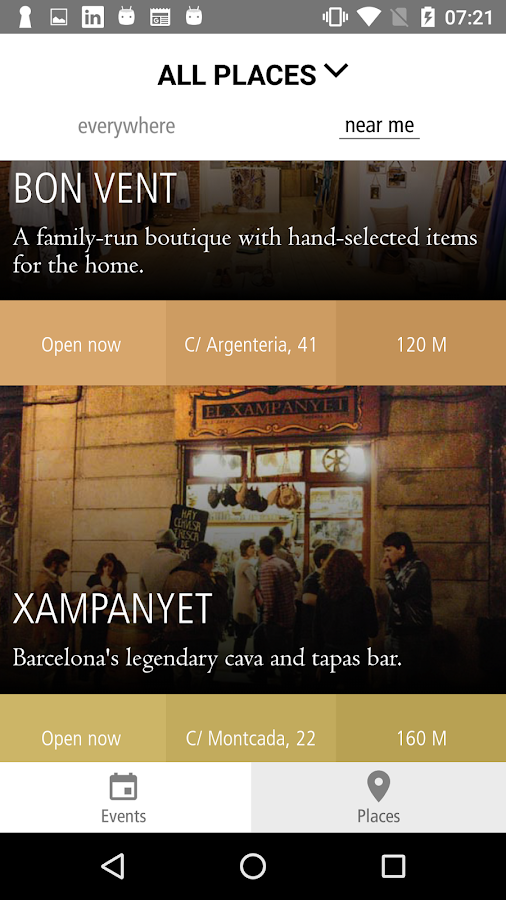 Miniguide Barcelona- screenshot