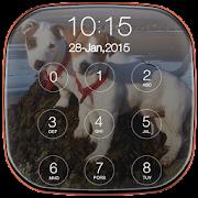 Cute Puppy Pincode Lockscreen APK for Bluestacks