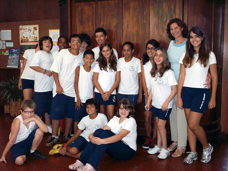 Escritora Ana Borgatto visita nossa escola – Unidade I – 2011
