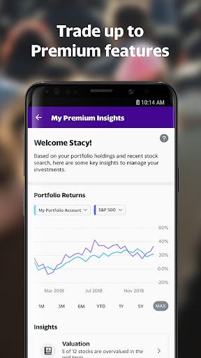 Yahoo Finance: Real-Time Stocks & Investing News screenshot 4