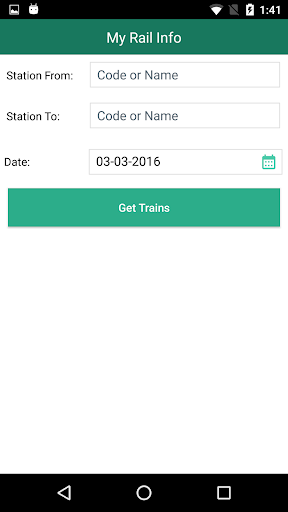 My Rail Info app (apk) free download for Android/PC/Windows screenshot