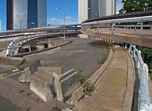 Photo: Porte de Bagnolet, l'échangeur, 2008