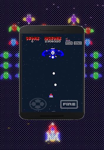 Galaxiga Retro:  Space Shooter screenshots 10
