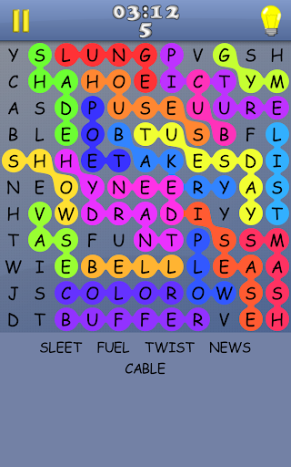 Word Search - A free game with infinite puzzles apkmr screenshots 8