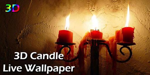 3D Candle Live Wallpaper