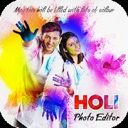 Holi Photo Editor - Holi Photo Frame 2020