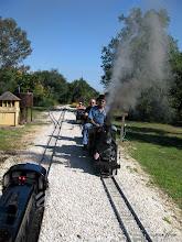 Photo: Mark Hajek (egnineer) and Bill Laird (passenger)   SWLS at HALS 2009-1107
