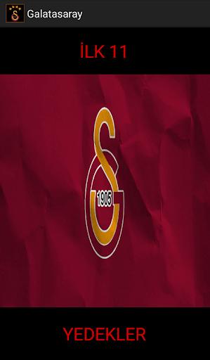 Galatasaray 2016 Fikstür Kadro