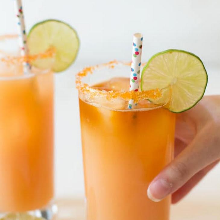 Passion Fruit, Orange, and Guava Rum Cocktail Recipe