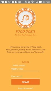 Food Dosti- screenshot thumbnail