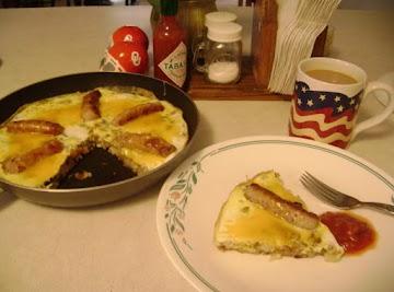 Wagon Wheel Omelet Recipe