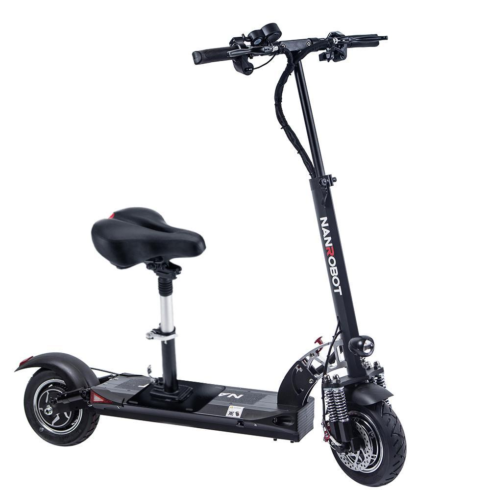 NanRobot D5+ electric scooter for heavy adults