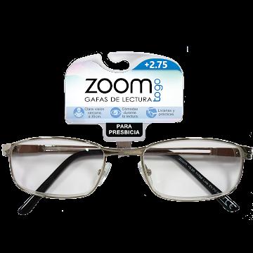 Gafas Zoom Togo Lectura Metals 2 Aumento 2.75 X1Und.