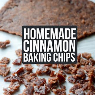 Homemade Cinnamon Baking Chips