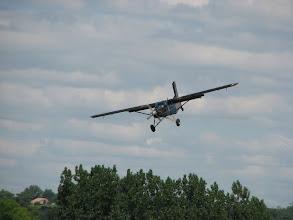 Photo: Pilatus PC6 Porter en courte finale, ça descend !