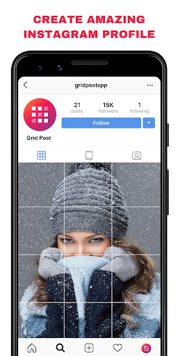 Grid Post - Photo Grid Maker for Instagram Profile screenshots 3