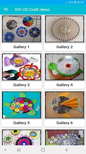 400+ Creative DIY CD Craft Ideas Offline 3 screenshots 1