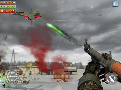 Jet Sky War Fighter 2019: Airplane Shooting Combat apktram screenshots 10