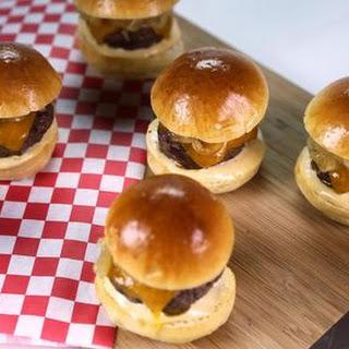 Baked Beef Sliders.