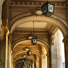 muzeul de istorie by Mihai Nita - Buildings & Architecture Other Exteriors ( lamps, arcades, repeat pattern,  )