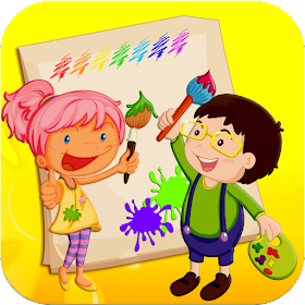 Kids Paint and Coloring Fun