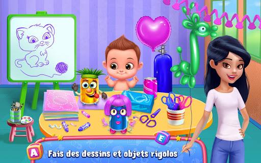 Code Triche Baby-sitting en folie, jour 1 u2013 Garde de du00e9lire APK MOD screenshots 3