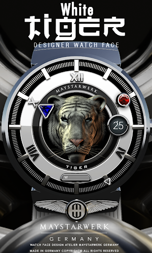 White Tiger Watch Face