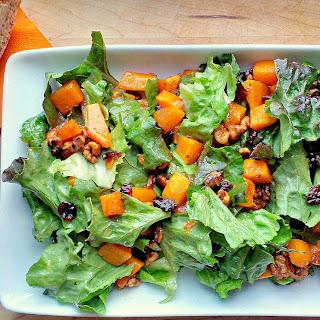Warm Squash & Nut Salad