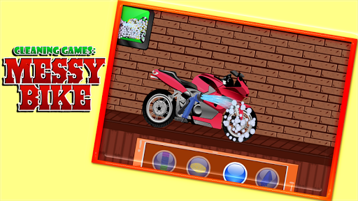 Cleaning Games : Messy Bike 1.0.0 screenshots 8