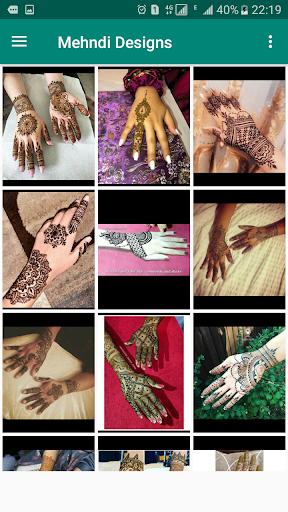 Mehndi Designs Offline  screenshots 2
