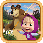 Masha and the Bear: Kids Fishing