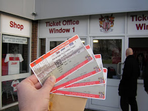 Photo: Main Stand tickets Stevenage FC - Crawley Town
