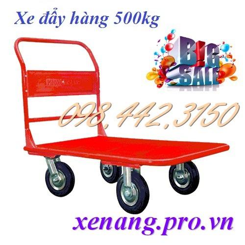 Xe đẩy hàng 500kg