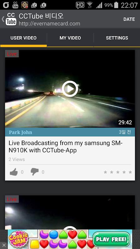 CCTube for YouTube Live Stream screenshots