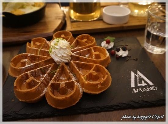 台北忠孝新生 4MANO CAFFÉ。冠軍咖啡之美味麻糬鬆餅