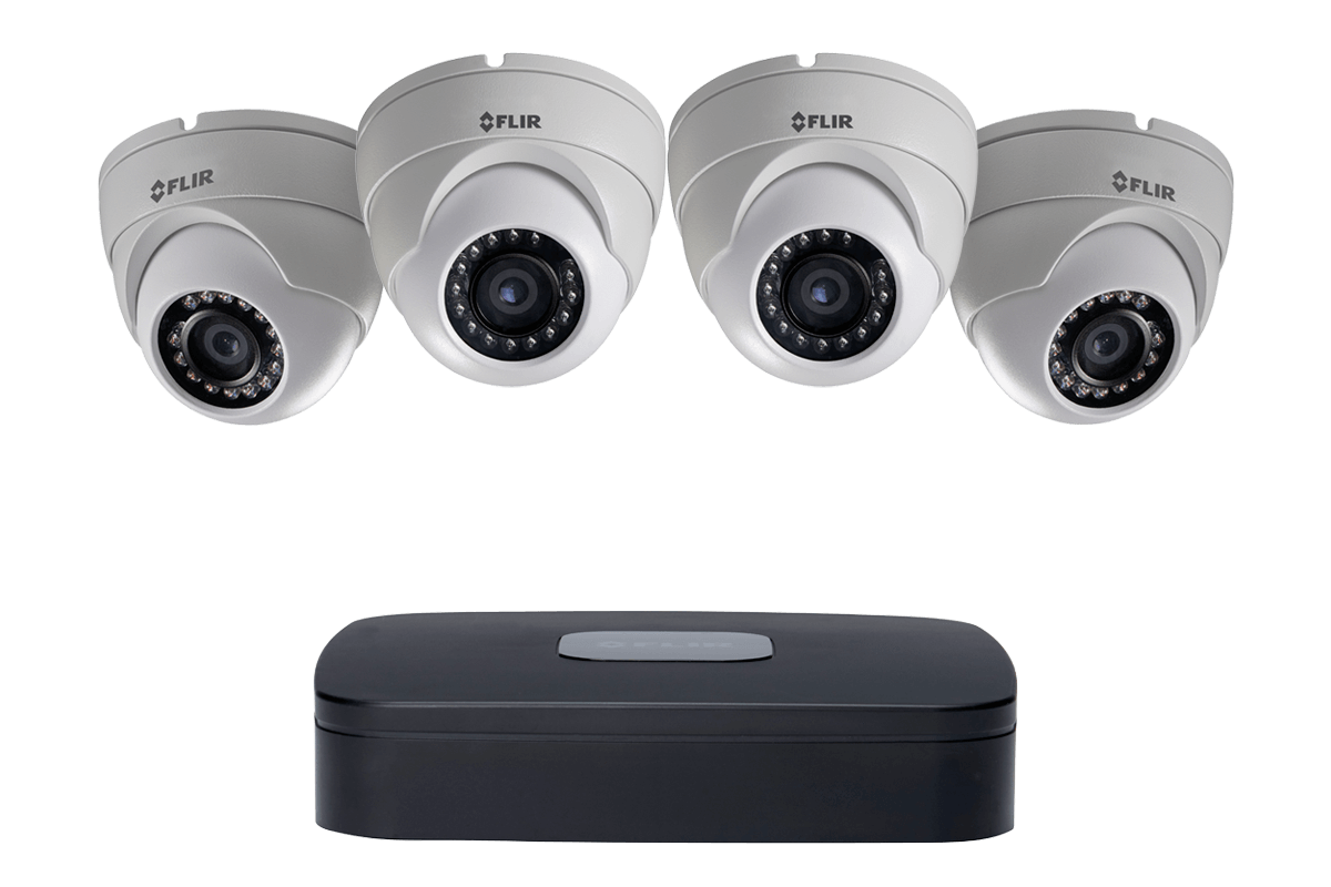 Flir Lorex Poe Surveillance Security Camera System 1080p
