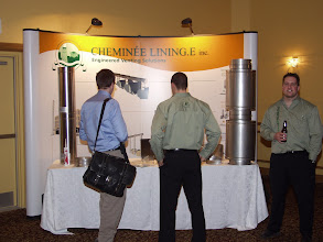 Photo: Breck-mar displayed Cheminee Lining venting solutions