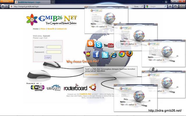 Modifikasi Login Page Hotspot MikroTik | GmiB26 Net