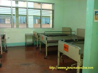 san lazaro hospital ward room