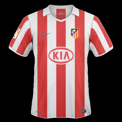 Camisetas hechas por ordenador Atletico