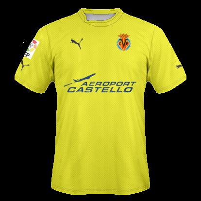 Camisetas hechas por ordenador Villarreal