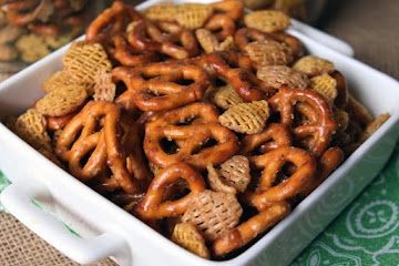 Spicy Snack Mix Recipe