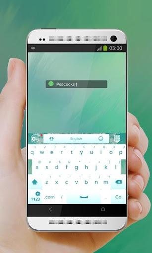 無料个人化Appの孔雀 GO Keyboard|記事Game